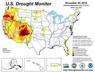 This Week's Drought Summary (11/21)