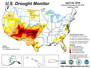 This Week's Drought Summary (4/26)