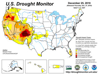 This Week's Drought Summary (12/27)