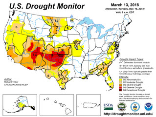 This Week's Drought Summary (3/15)