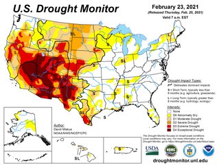 This Week's Drought Summary (2/25)