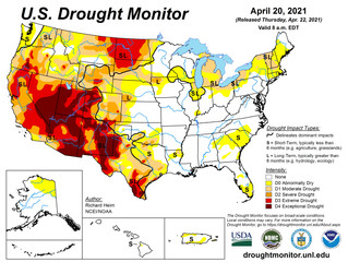 This Week's Drought Summary (4/22)