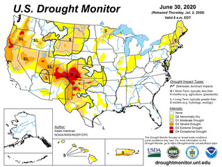 This Week's Drought Summary (7/2)