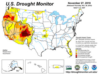 This Week's Drought Summary (11/29)