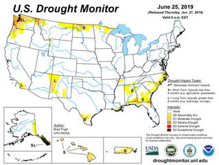 This Week's Drought Summary (6/27)
