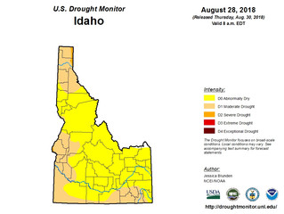 This Week's Drought Summary (8/30)