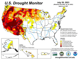 This Week's Drought Summary (7/22)