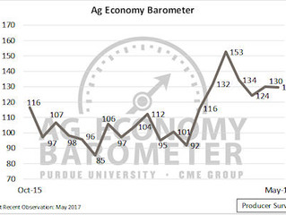 Producer sentiment toward the ag economy holds steady