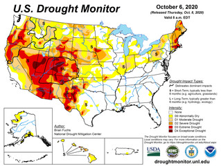 This Week's Drought Summary (10/8)