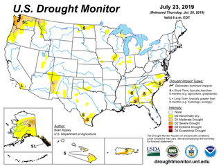 This Week's Drought Summary (7/25)