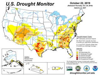 This Week's Drought Summary (10/24)