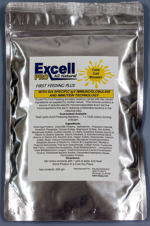 Excell Pro First Feeding