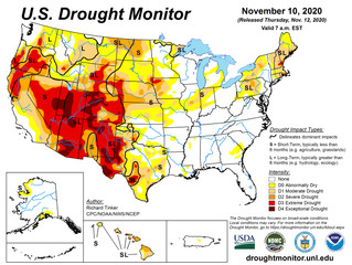 This Week's Drought Summary (11/12)