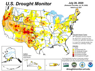This Week's Drought Summary (7/30)