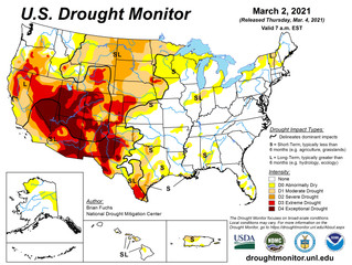 This Week's Drought Summary (3/4)