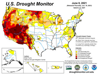 This Week's Drought Summary (6/10)