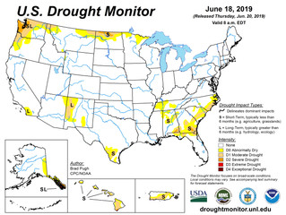 This Week's Drought Summary (6/20)
