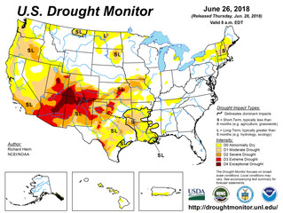 This Week's Drought Summary (6/28)