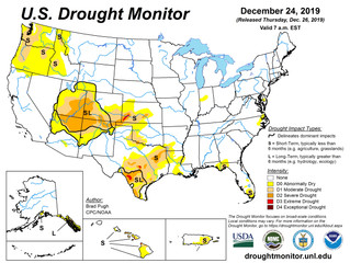 This Week's Drought Summary (12/26)