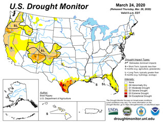 This Week's Drought Summary (3/26)