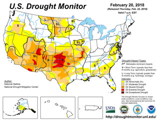 This Week's Drought Summary (2/21)