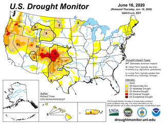 This Week's Drought Summary (6/18)