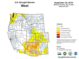 This Week's Drought Summary (9/26)