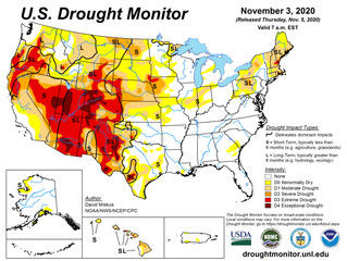 This Week's Drought Summary (11/5)