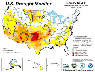 This Week's Drought Summary (2/15)
