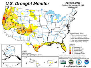 This Week's Drought Summary (4/30)