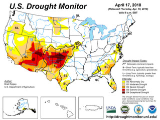 This Week's Drought Summary (4/19)
