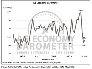 Ag Economy Barometer Shows Slow Recovery in Farmers' Sentiments