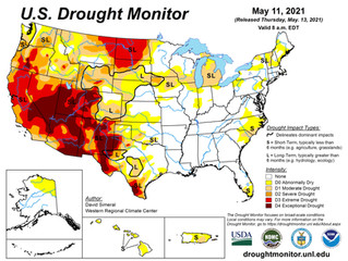 This Week's Drought Summary (5/13)