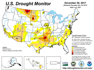 This Week's Drought Summary (11/30)