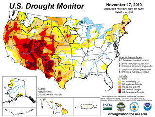 This Week's Drought Summary (11/19)