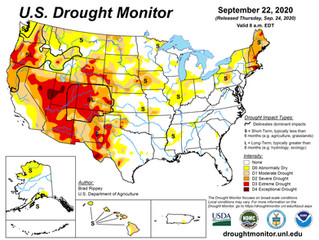 This Week's Drought Summary (9/24)