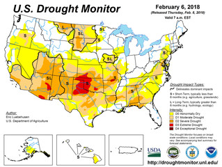 This Week's Drought Summary (2/8)