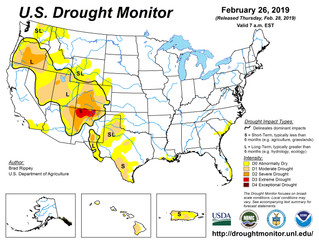 This Week's Drought Summary (2/28)
