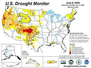 This Week's Drought Summary (6/11)