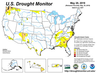 This Week's Drought Summary (5/30)