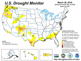 This Week's Drought Summary (3/28)