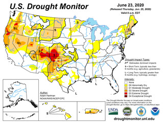 This Week's Drought Summary (6/25)