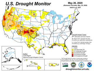 This Week's Drought Summary (5/28)