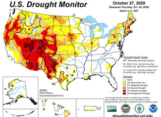 This Week's Drought Summary (10/29)