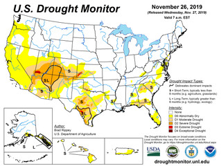 This Week's Drought Summary (11/27)