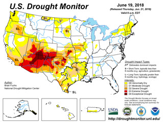 This Week's Drought Summary (6/21)
