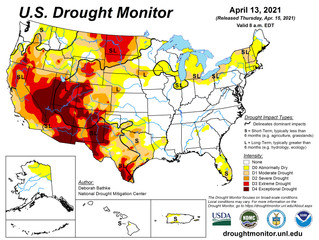 This Week's Drought Summary (4/15)