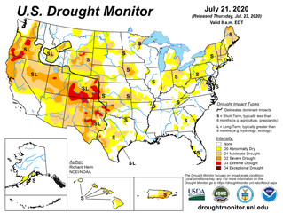 This Week's Drought Summary (7/23)
