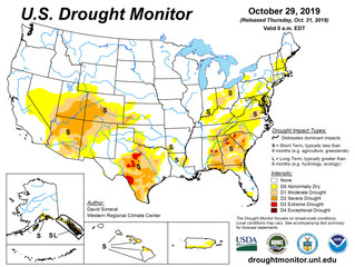 This Week's Drought Summary (10/31)