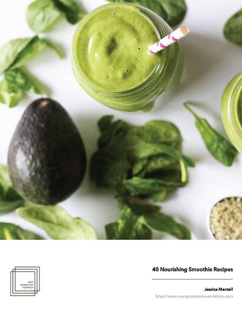 40 Nourishing Smoothie Recipes